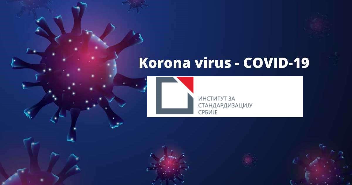 Institut Za Standardizaciju Srbije – Obaveštenje